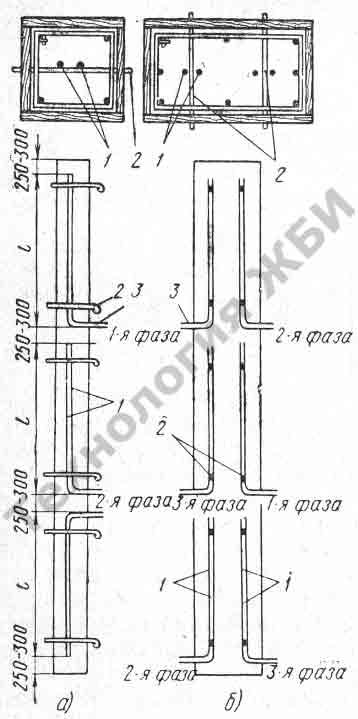 схема размещения электродов