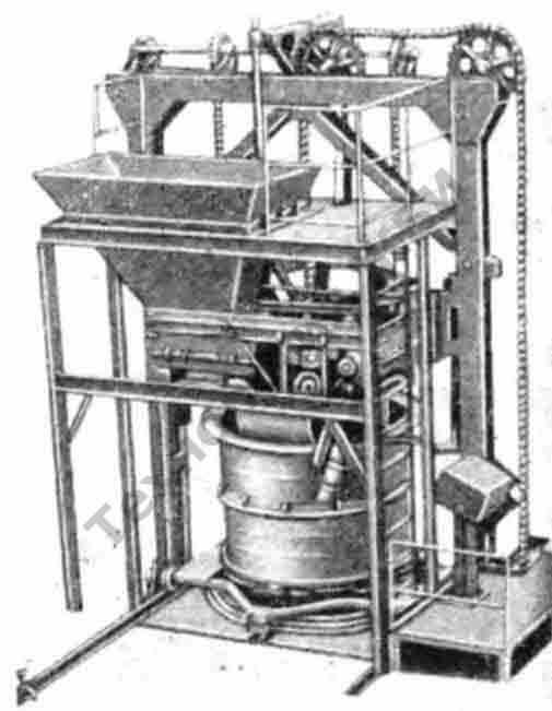 Установка СМ-210К для изготовления железобетонных колец