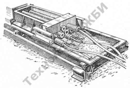 Изготовление крупных пустотелых блоков стендовым способом