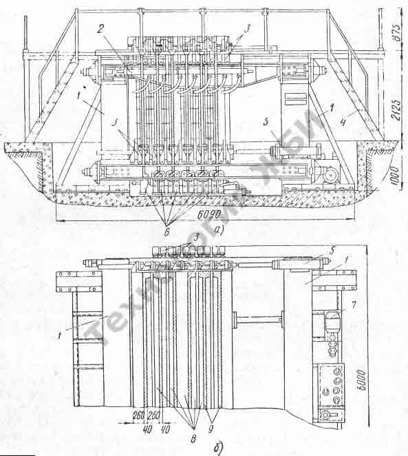 Производство панелей из железобетона в кассетной форме
